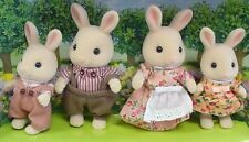Calico Critters Sweet Pea Rabbit Family Dolls Set CC1545 New NIB Sweetpea Epoch