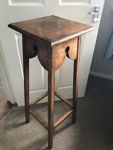 Vintage Wooden Tall Plant Stand