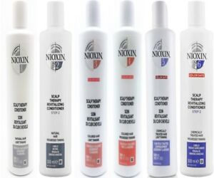 Nioxin 1/2/3/4/5/6  Scalp Conditioner 10.1oz 300ml New Packages
