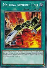 YU-GI-OH CARD: MACHINA ARMORED UNIT - LEDD-ENB19 - 1ST EDITION