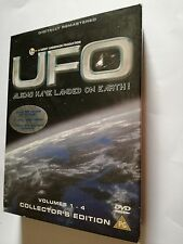 UFO: Aliens Have Landed On Earth Dvd cofanetto 4 Dischi 1a stag 13 epis (Inglese