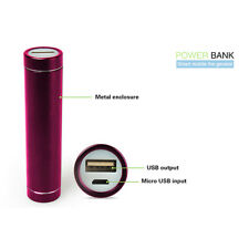 Universal Charging Device 2600mAh Power Bank Portable Rechargeable USB Charger