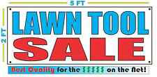 LAWN TOOL SALE Banner Sign NEW Larger Size Best Quality for The $$$$ Pawn Shop