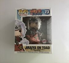More details for funko pop! naruto jiraiya on toad #73 hot topic exclusive authentic