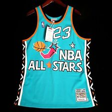 100% Authentic Michael Jordan Mitchell Ness 1996 96 All Star Jersey Size 44 L
