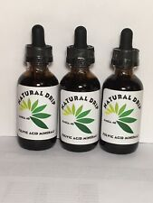 Natural Drip 3 Bottles 2 oz. each of Fulvic Acid trace mineral concentrate