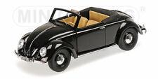Minichamps 1:18 VW 1200 CABRIOLET HEBMUELLER - 1949 - BLACK
