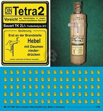 Peddinghaus 1/48 Tetra Fire Extinguisher Markings German AFVs WWII (Late) 3300