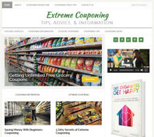 * EXTREME COUPONING * blog website business for sale w/ AUTO CONTENT UPDATES