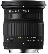Sigma 17-70mm f/2.8-4.5 DC SLD Macro Lens for Sony A Mount DSLR Cameras
