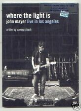 DVD JOHN MAYER LIVE IN LOS ANGELES WHERE THE LIGHT IS