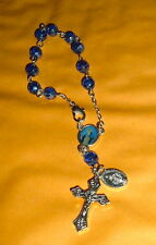 LADY OF GRACE  1 DECADE  Auto Rosary  6 inch NIB Mary