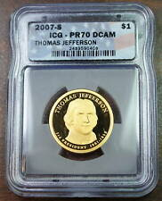 2007-S Presidential Dollar Coin, ICG PR-70 DCAM, Proof