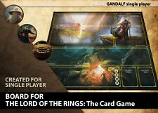 LORD OF THE RINGS LCG GAME BOARD GAMEBOARD NEW CLOTH PLAYING SURFACE CARD MAT