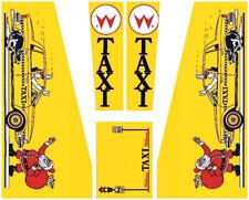 TAXI Pinball Machine Cabinet Decals  NEXT GEN - LICENSED