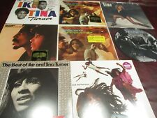 IKE & TINA TURNER A&M RECORDS AP-4178 RIVER DEEP + 50TH LP'S + TINA BONUS LP SET