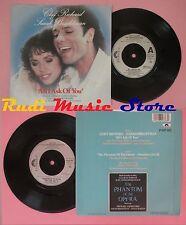 LP 45 7''CLIFF RICHARD SARAH BRIGHTMAN All i ask of you The phantom no cd mc dvd