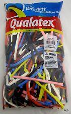 Qualatex Balloons Traditional Assortment Animal Twist 250 Count Size 260 Balloon