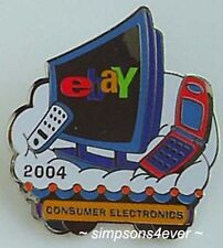 eBay Live 2004 Pin CONSUMER ELECTRONICS Category PIN New (Promo Giveaway Item)