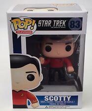 Star Trek serie Original Scotty Pop Vinilo Raro abovedado