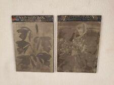 2 Etching Engraved Metal Printing Machine Press Plate Stamp Bletilla Hyacinthia