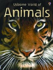 Usborne World of Animals  by Susanna Davidson c2009 NEW Paperback