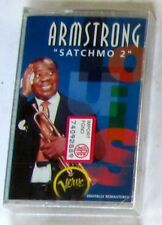 LOUIS ARMSTRONG - SATCHMO 2 -  Musicassetta Cassette Tape MC K7 - Sealed