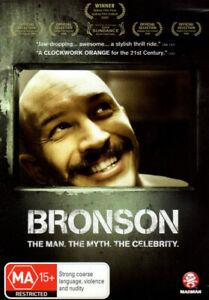 Bronson - Tom Hardy, James Lance, Nicolas Winding Refn - DVD