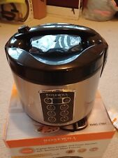 Rosewill 12-Cup Cooked 6-Cup Uncooked Digital Rice Cooker and Food Steamer