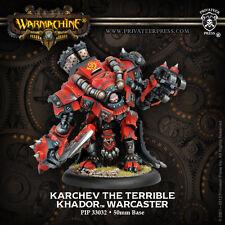 Warmachine - Khador - Karchev The Terrible - PIP 33032 - NIB - Free Shipping