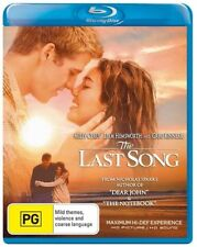 The Last Song - Blu-ray, 2010 (LIKE NEW) Aus Region B
