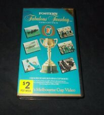 FOSTER'S FABULOUS TUESDAY MELBOURNE CUP VIDEO VHS PAL 3 HOURS OF MELBOURNE CUP