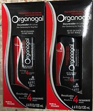 (2)Organogal Oscurecedor de Canas Results 4 Semanas Hair Darkening For Gray Hair