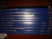 Library Reference Books Lot 10~NORTH AMERICAN FISHING CLUB/Sportsman Club    750