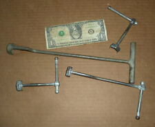 Vintage Wright T Wrench & 3 Others,Old Car,Truck,Jeep Mechanic Tool,Hex Nut,+ 12