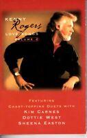 Kenny Rogers Love Songs Vol 2 II 2000 Cassette Tape Album Country Folk Rock Soft