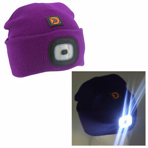 Light Up Beanie Hat - Summit Camping and Outdoor Safety Wear / Equipment