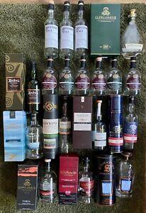 18 leere Single Malt Whisky Flaschen Bardeko Sammler teilweise seltene Abfüllung
