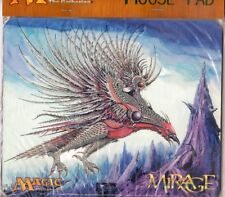 CRIMSON ROC MOUSE PAD X1  MAGIC MTG  MIRAGE FACTORY SEALED 1996