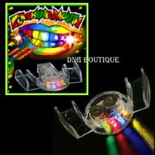 12 PCS LED Flashing Mouth Multi-Color Favors Glow Blinking Rave Nightclub Party