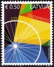 LATVIA 2016-13 Bicycle. G. Erenpreiss - 125. Transport. Inventions, MNH