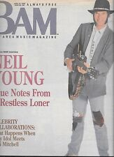 BAM BAY AREA MUSIC MAGAZINE #281 APRIL 22, 1988 (VF) NEIL YOUNG, BILLY IDOL