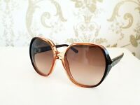 CHLOE` Misha oversized sunglasses -CE718S- gradient brown With case! SALE