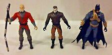 Lot of 3 Batman Begins Action Figures
