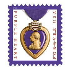 USPS New Purple Heart Medal 2019 Pane of 20