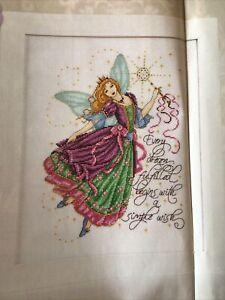 Joan Elliott Fairy Godmother Wish Upon A Star Cross Stitch Chart