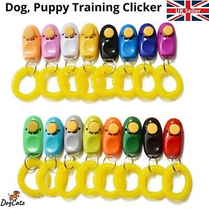 DOG PET TRAINING CLICKER / TRAINER TEACHING TOOL / DOGS/ PUPPY CLICK