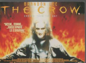 Brandon Lee The Crow Carte Postale Postcard Z.1083