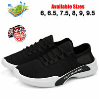 Men's Athletic Sneakers Outdoor Breathable Mesh Trainers Sport Gym Running Shoes