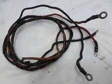 1989 NISSAN NS40C 40HP 2-CYL BATTERY CABLES 3B2-76120-0 6.5FT MOTOR OUTBOARD